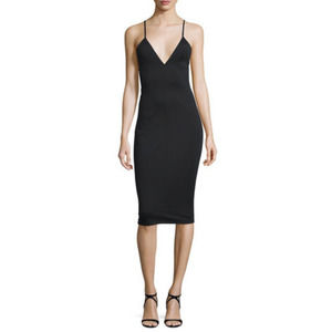 T Alexander Wang Fitted High-lux Ponte Dress NWT
